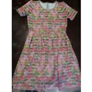 Lularoe Amelia Dress Size XL *UNICORN PRINT*